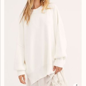 Free People Easy Street Tunic- Painted White